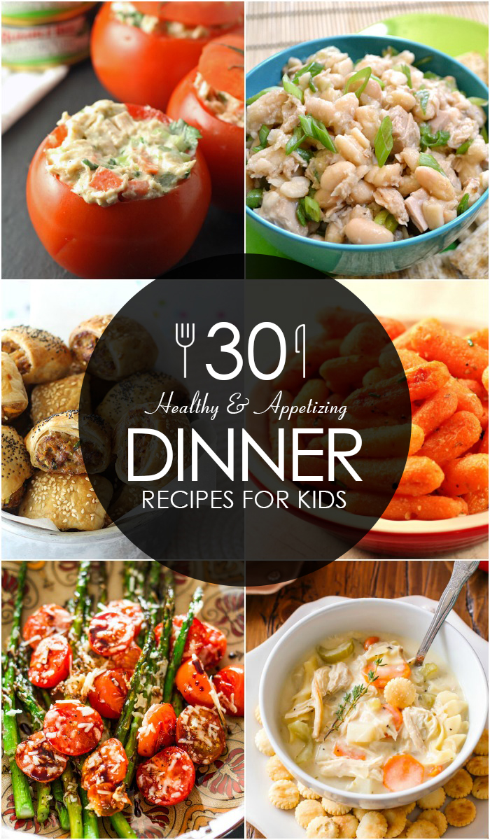 Healthy and Appetizing Dinner Recipes for Kids