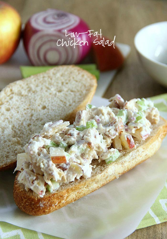 Low-fat Chicken Salad