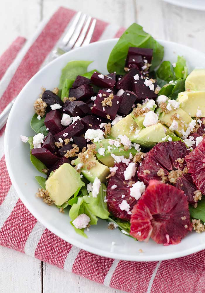 Blood Orange and Roasted Beet Salad