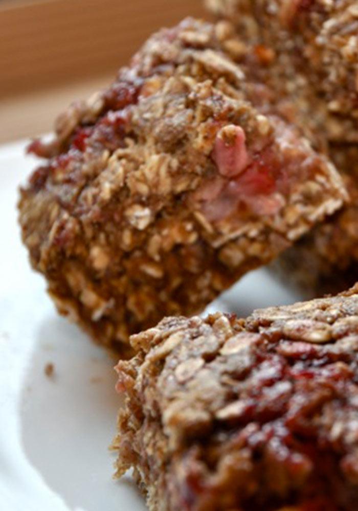 Cherry Berry Breakfast Bars