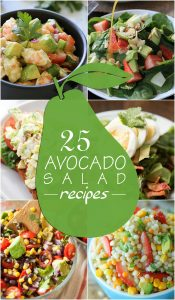 25 Healthy Avocado Salad Recipes