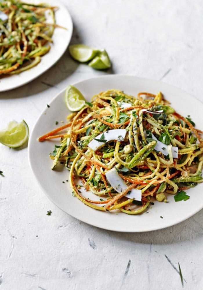 Jamie Oliver's Vegan Noodles with Curried Coconut Sauce