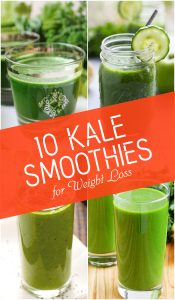 Top 10 Kale Smoothies for Weight Loss