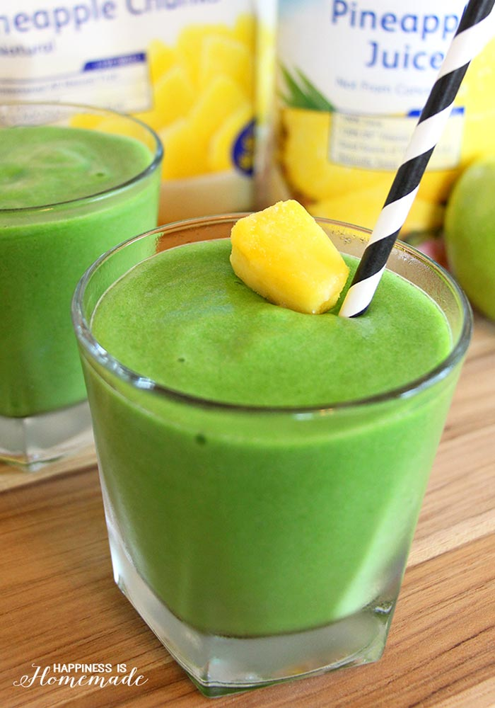 Mean Green Machine Smoothie