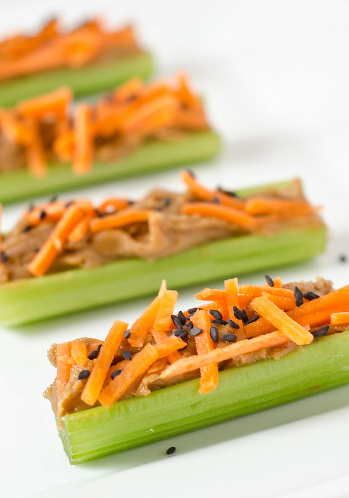 Thai Peanut Satay Celery Sticks