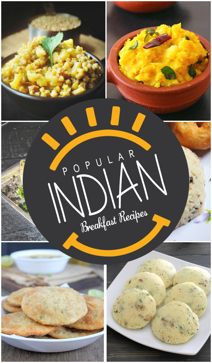 25 Popular Indian Breakfast Recipes - 450.8KB