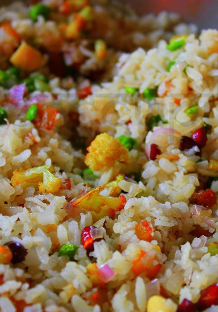 Bengali Chirer Pulao (Flattened Rice Pulao)