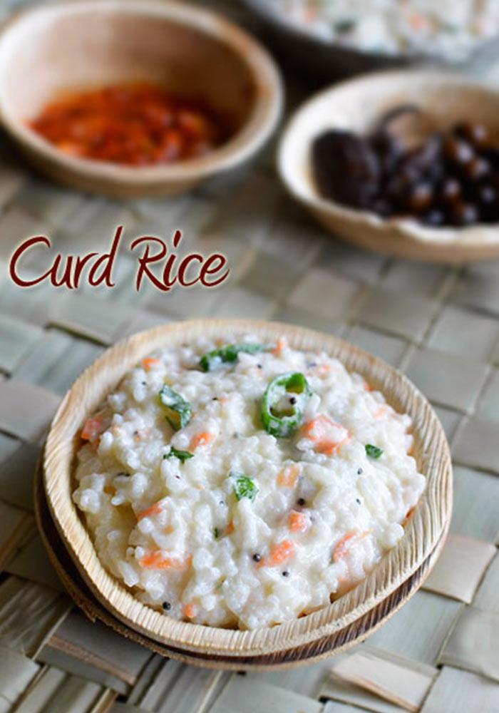 Curd RiceThayir Sadam