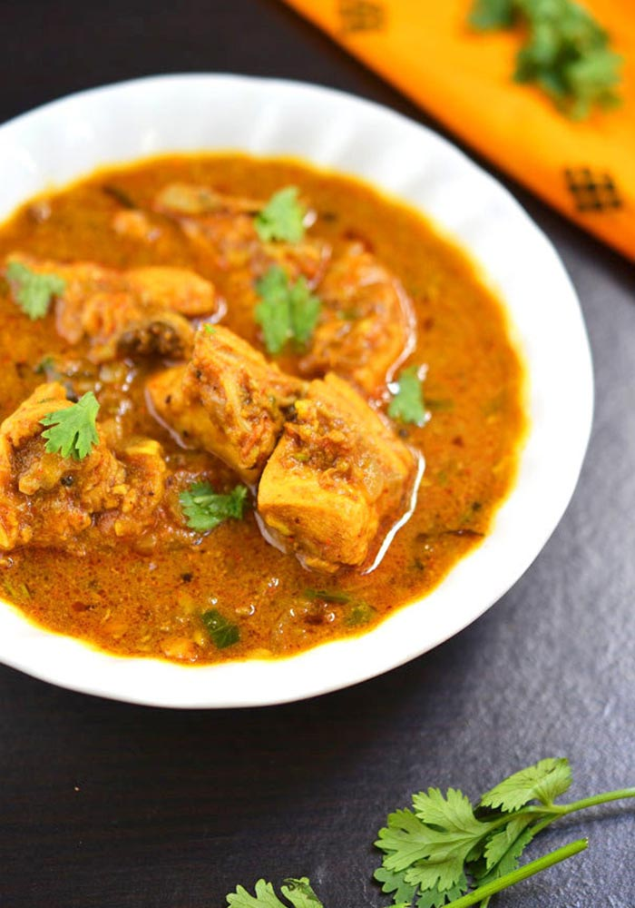 Kodi Kura Andhra Style Chicken Curry