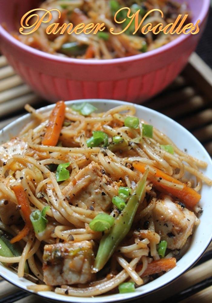 Panner Noodles