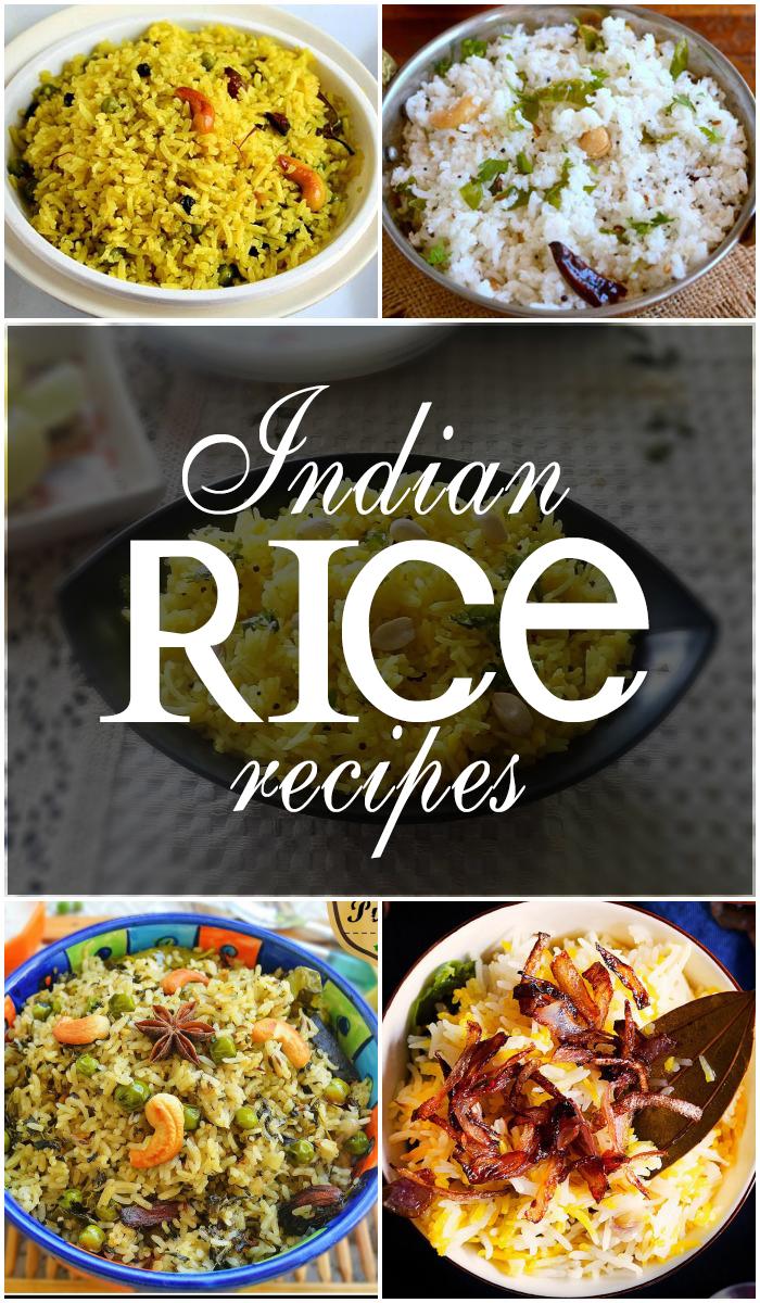 Popular Indian Rice Recipes