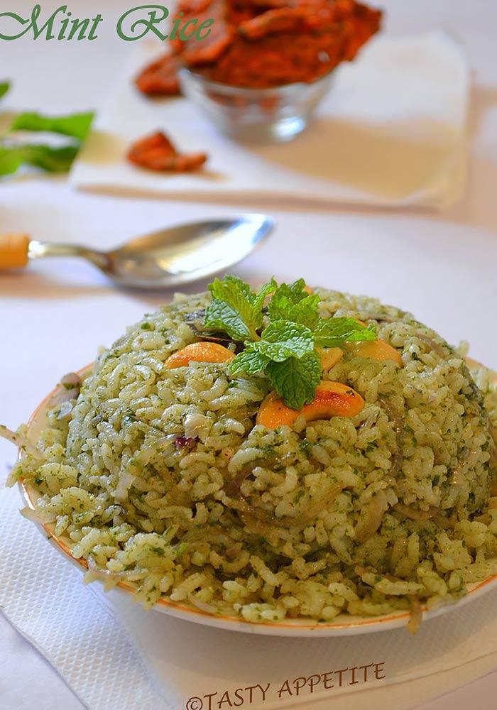 Pudina RiceMint Rice