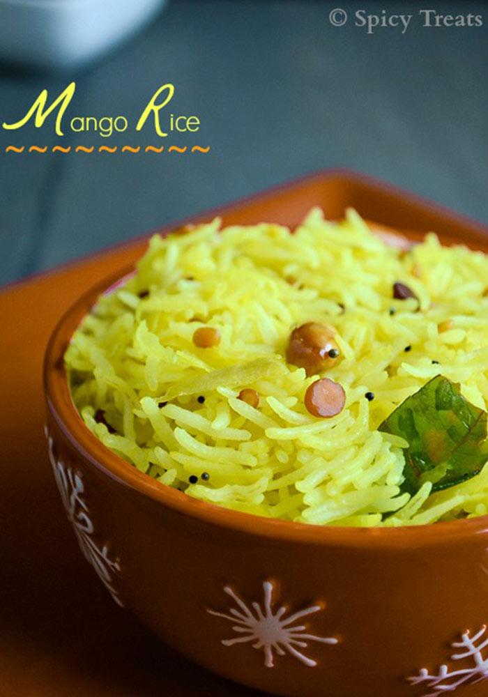 Raw Mango RiceMaanga Sadham