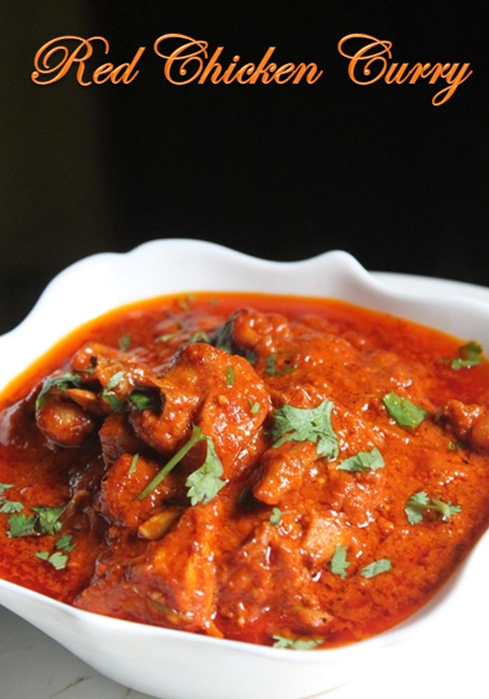 Spicy Indian Red Chicken Curry