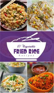 10 Best Vegetable Fried Rice Recipes