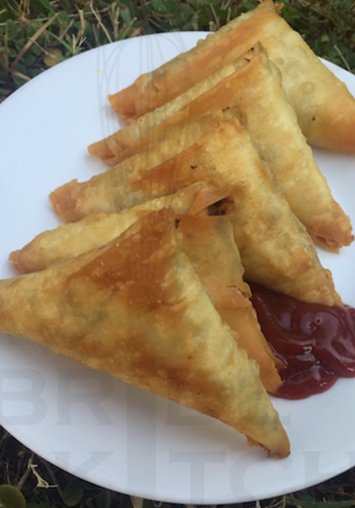 Cream Corn Samosa