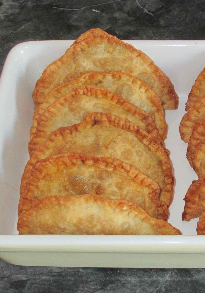 Samosa with Pork Filling