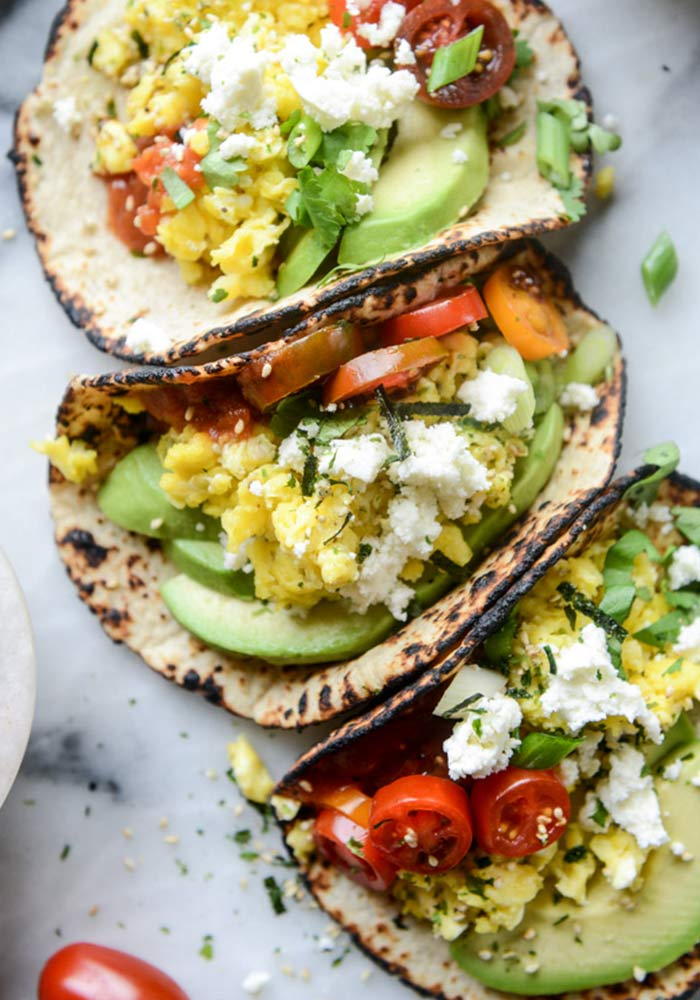 Summer Breakfast Tacos
