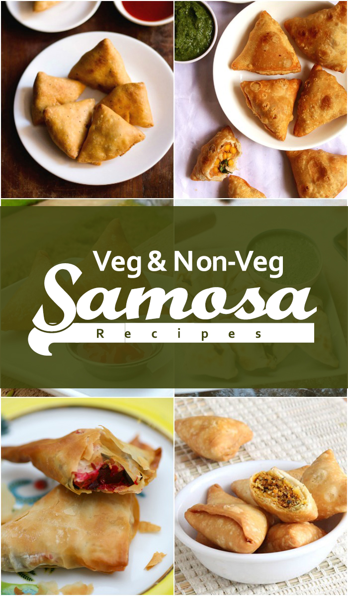 Vegetarian and Non-Vegetarian Samosa Recipes