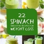 22 Best Spinach Smoothie Recipes for Weight Loss
