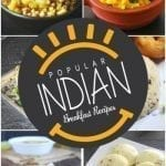 25 Popular Indian Breakfast Recipes