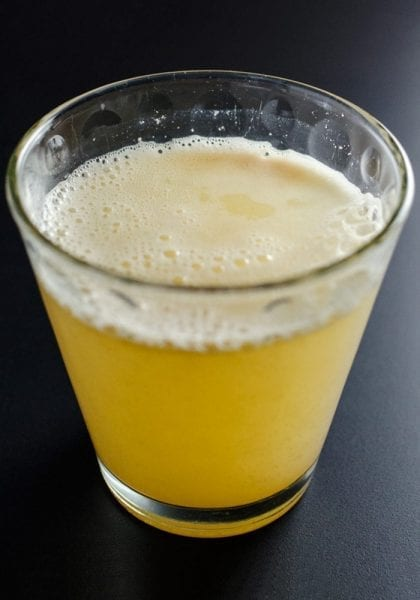 Apple Cider Vinegar Lemon Ginger Tonic
