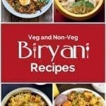 18 Easy Veg and Non-Veg Biryani Recipes