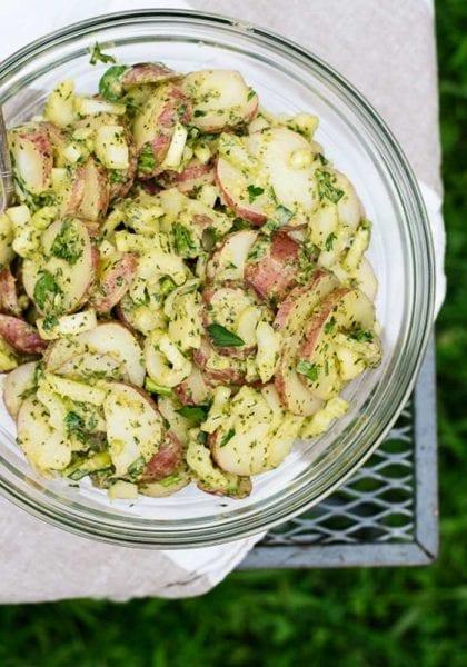 Herbed Red Potato salad