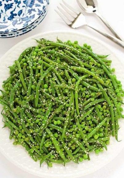 Sesame Ginger Green Bean Salad
